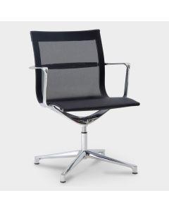 ICF Una Chair designstoel - Zwart