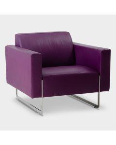 Artifort Mare design fauteuil - Paars