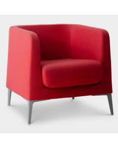 Segis Alphabet DTA design fauteuil - Rood