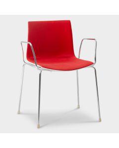 Arper Catifa 46 designstoel - Rood