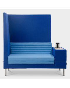 Offecct Smallroom Plus 1500 designbank - Blauw