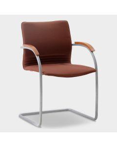 Thonet S79 designstoel - Oranje-bruin
