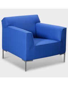 Design on Stock Bloq designfauteuil - Blauw