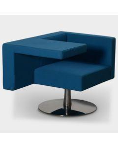 Offecct Solitaire designfauteuil - Blauw