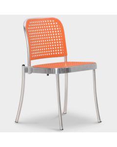 De Padova Silver designstoel - Oranje / chroom