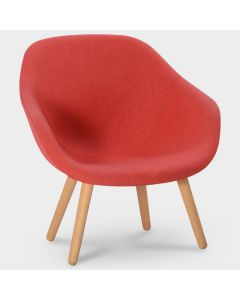 HAY AAL82 designfauteuil - Rood